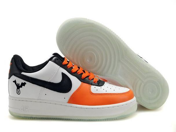 85.00 Nike Air Force 1 'Q7 Low Men's Leather Shoes Black