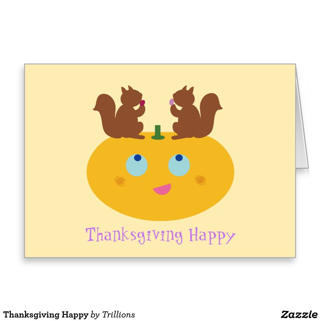 Thanksgiving Happy Greeting Card