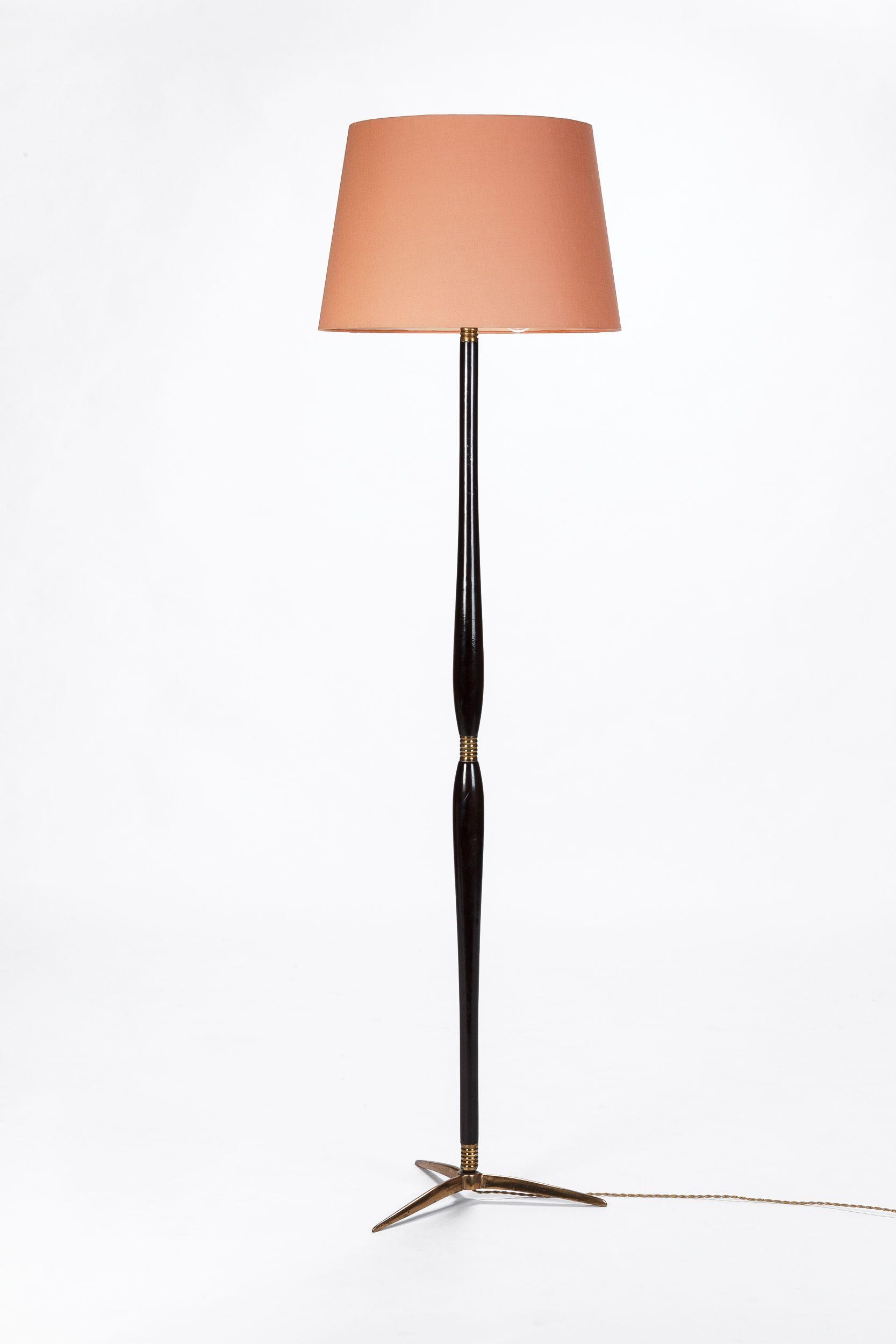 Italian Floor Lamp Attr Cesare Lacca 40 S