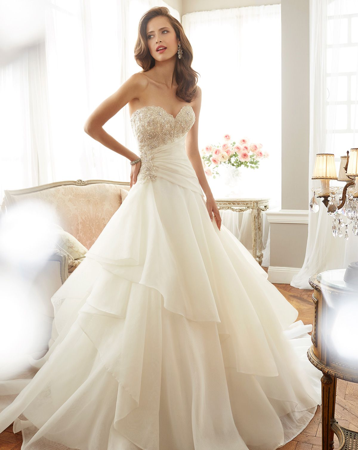 4540cfe6ca Newly Leaked Secrets To Bridal Gowns Fit And Flare Corsets Swarovski  Crystals Uncovered 106
