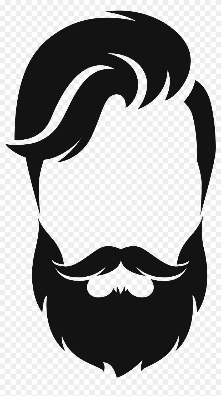 Download Pin by HAZAR WORLD on التصميم in 2020 | Beard logo, Beard ...