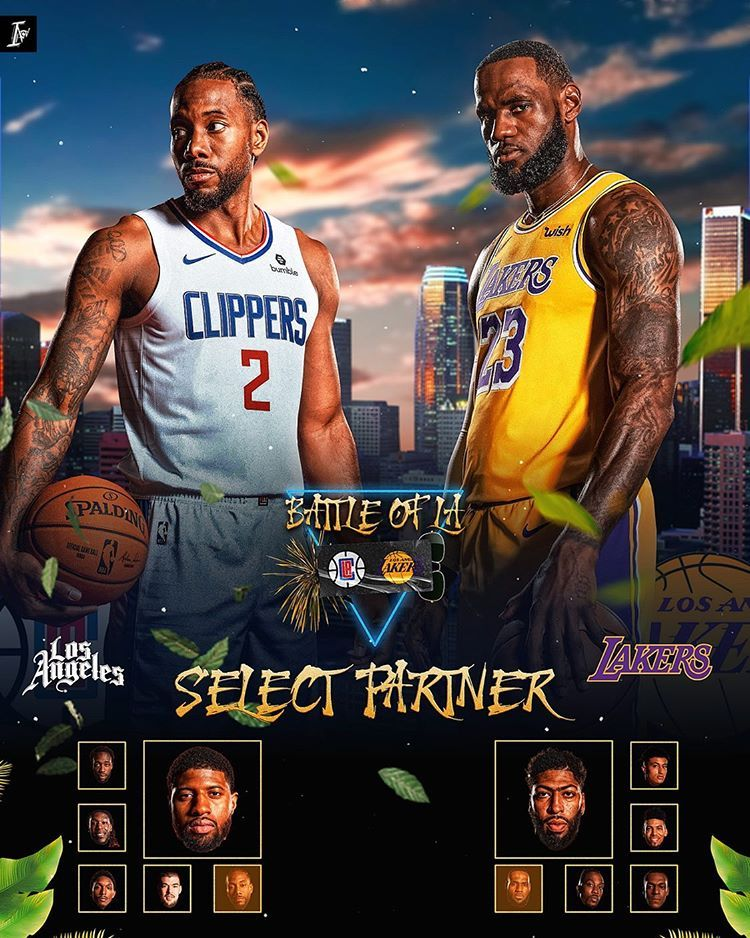 Ikenna Akosa On Instagram The Nba Returns Tonight With The Headlining Game Being The Lakers Vs The Clippers Who You Got In 2020 Lakers Vs Lakers Vs Clippers Lakers
