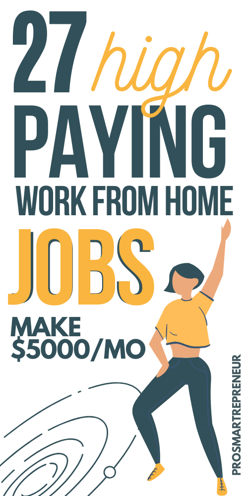 10 Best Work from Home Jobs for 2020 That Makes $5