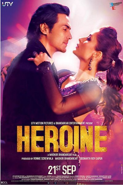 Check Out The New Poster Of Arjun Rampal And Kareena Kapoor S Movie Heroine Kareena Kapoor Movies Bollywood Posters Free Movies Online