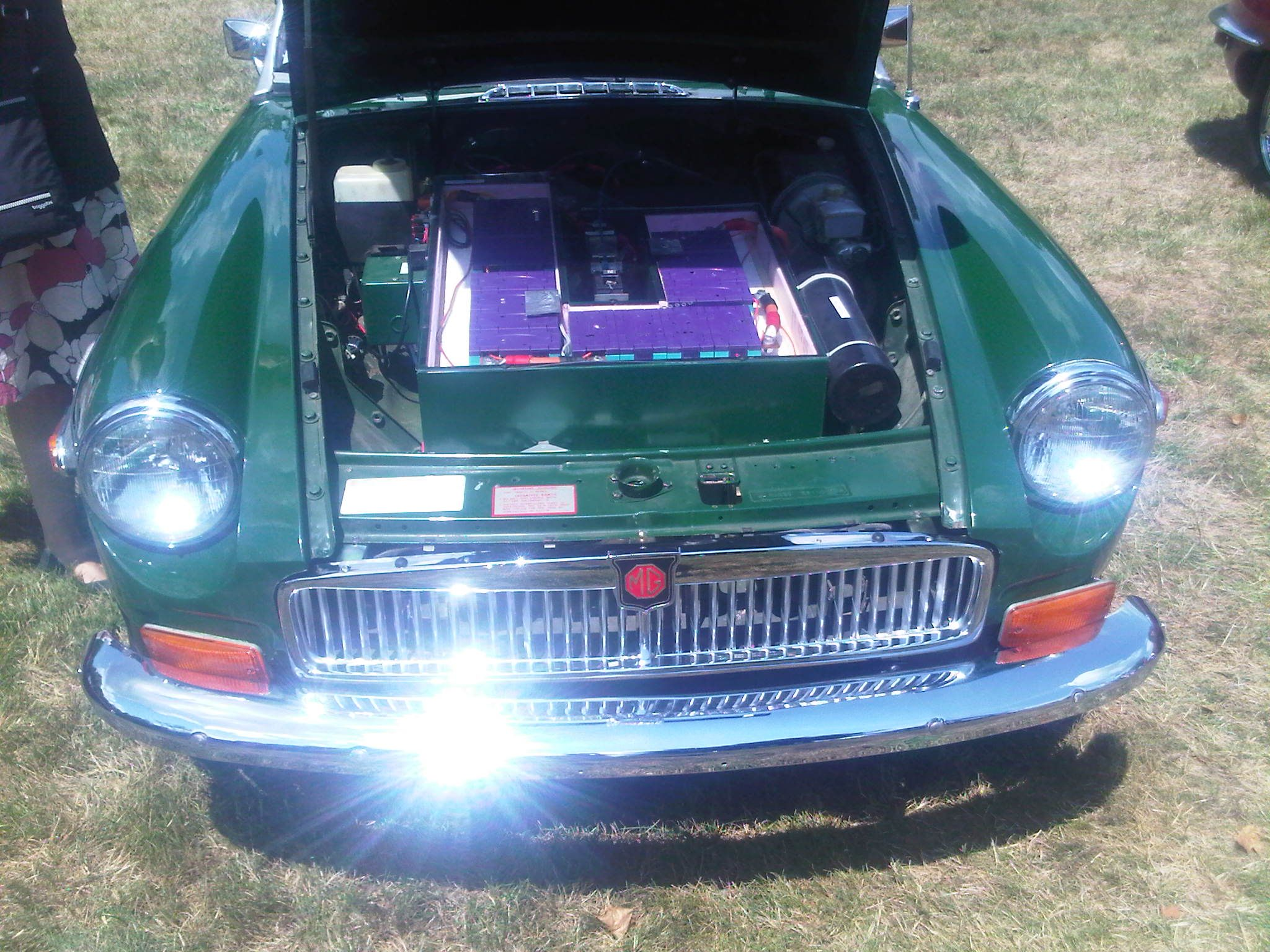 1976 MGB Electric Conversion | British Cars | Cars, Electric