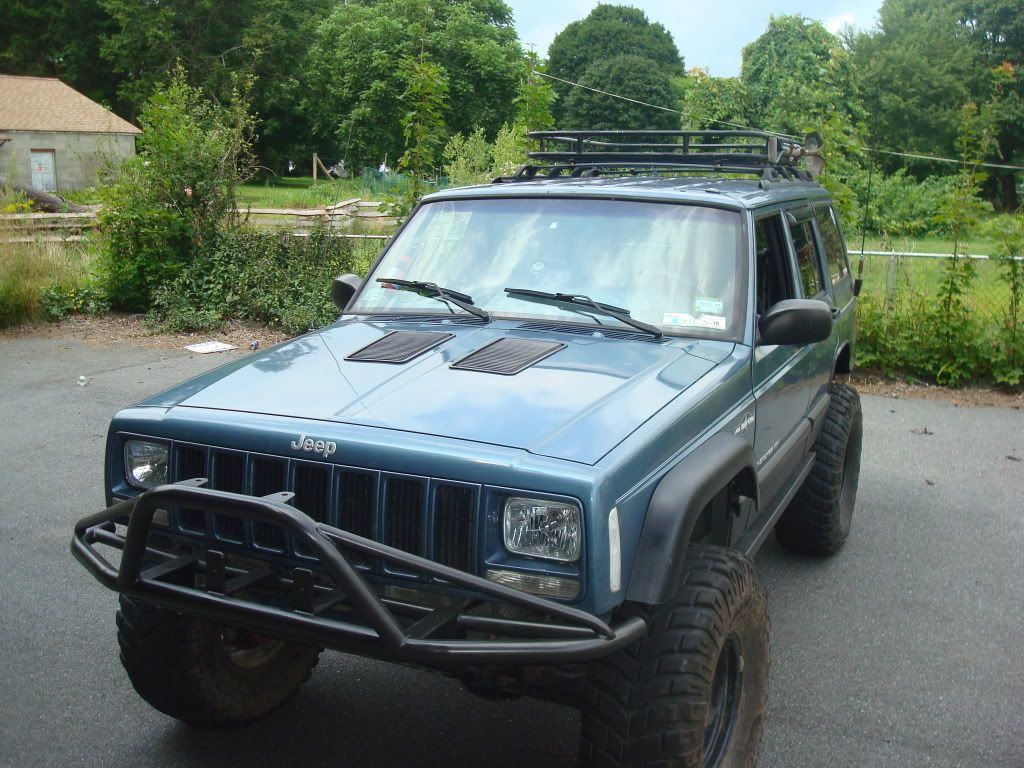 Hood Vent 87 Jeep Cherokee