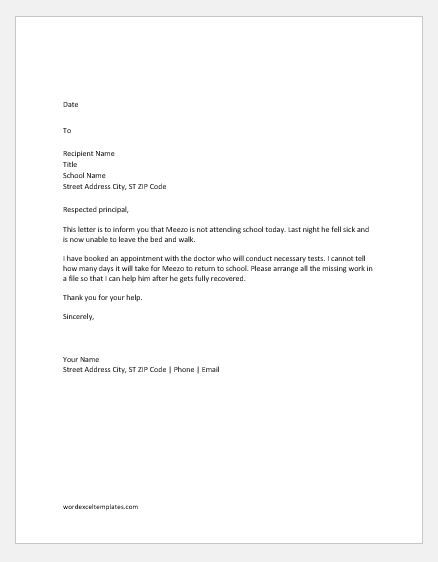 Leave Of Absence Letter To Employer from i.pinimg.com