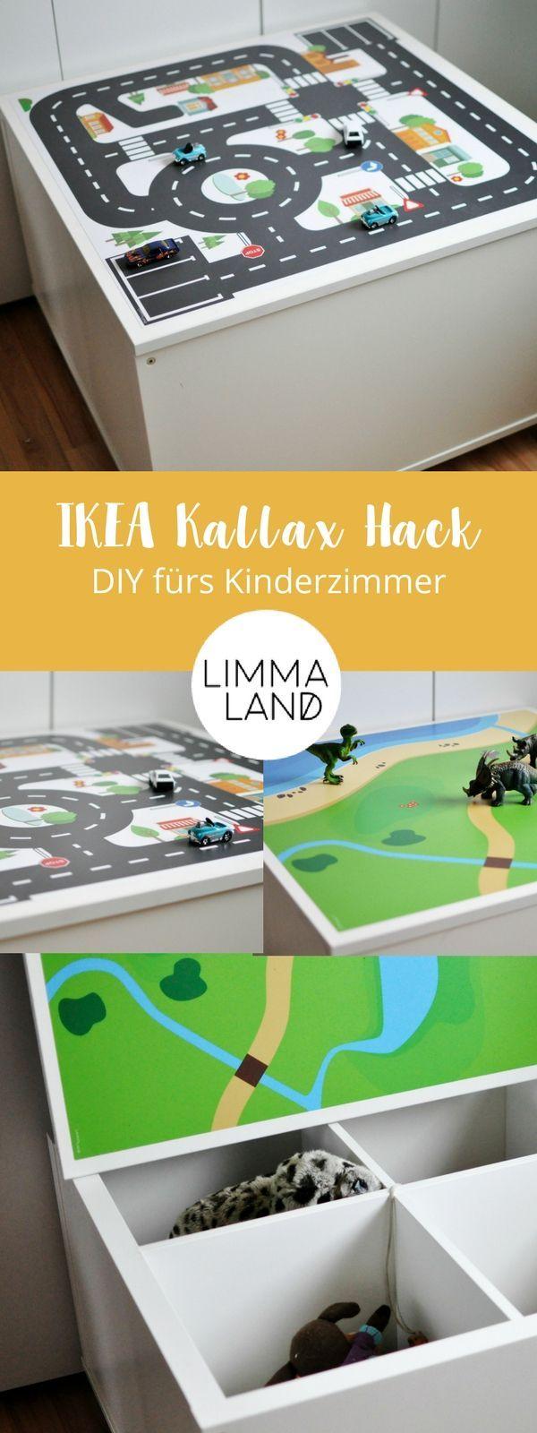 Ikea Kallax Hack Fur Das Kinderzimmer Diy Spieltisch Mit Stauraum