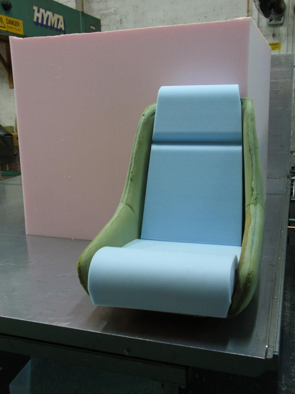 Car seat cushions  Create your own bespoke car seat from