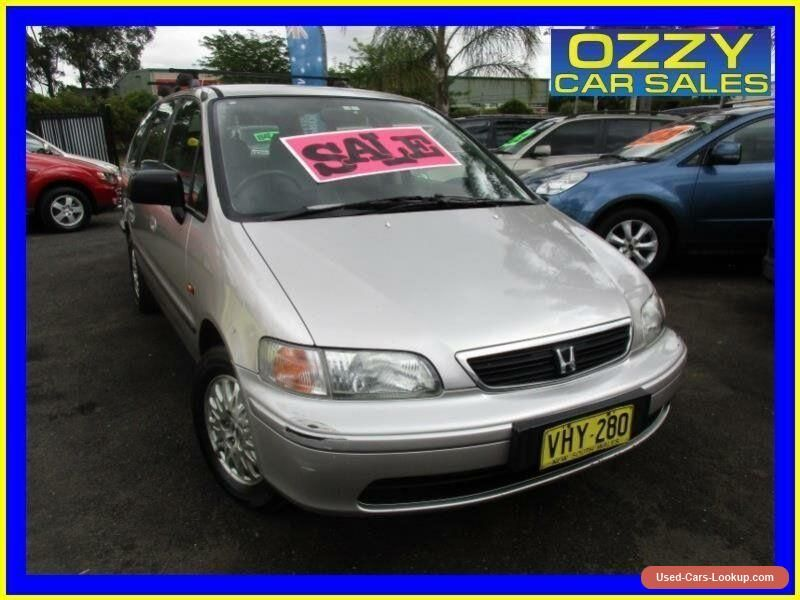 1998 Honda Odyssey (7 Seat) White Automatic 4sp A Wagon