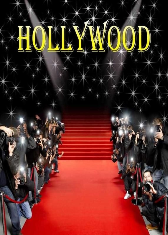 Hollywood Star Take Photos Red Carpet Photography Background Etsy In 2020 Background For Photography Hollywood Printed Backdrops