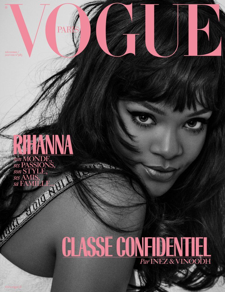Rihanna Vogue Paris magazine cover shot by Inez   Vinoodh 0adca7b163b