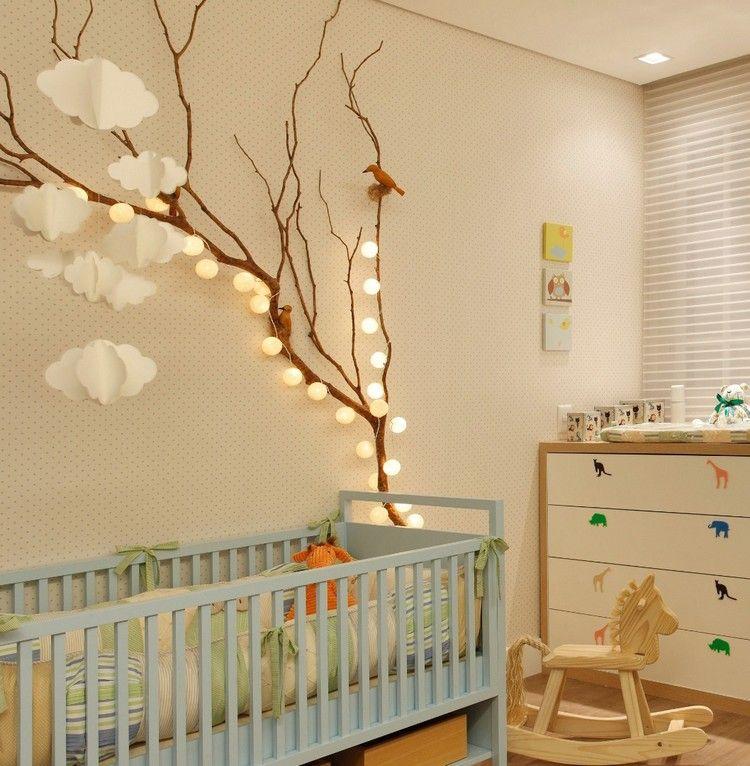 Baby- und Kinderzimmer Deko mit Wolken - 15 traumhafte Ideen - deko kinderzimmer