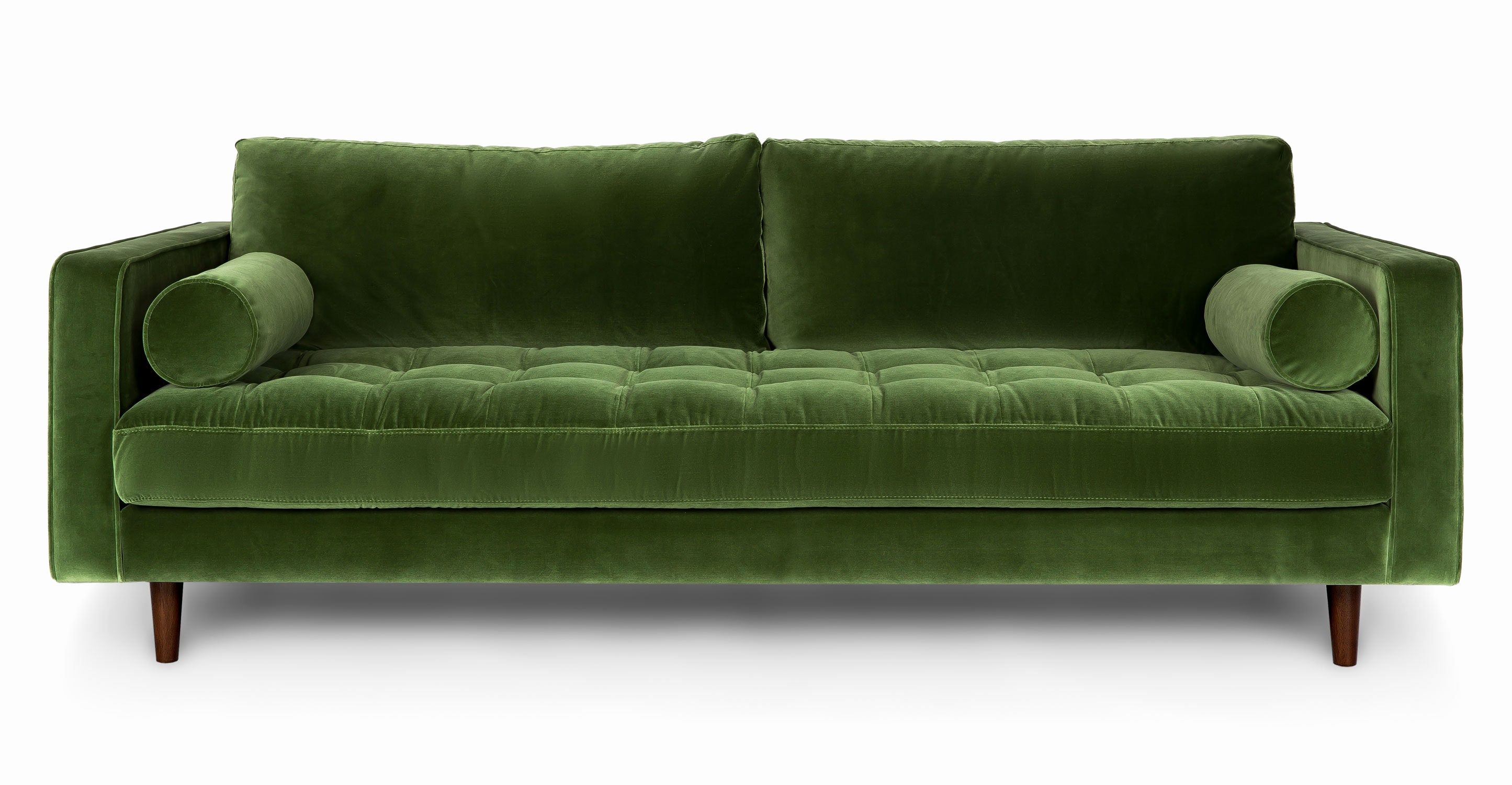 Lovely How To Clean Velvet Sofa Pics Unique Sven Gr Green
