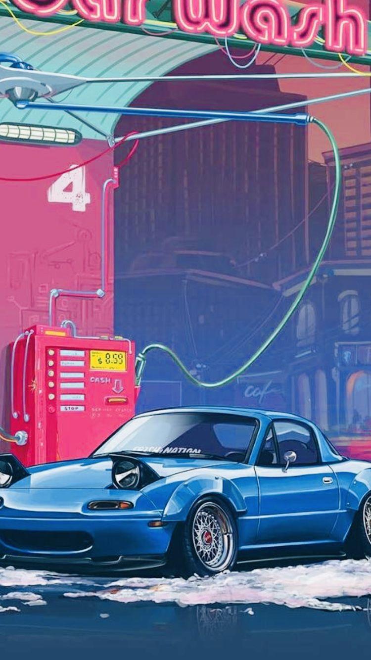 Pin By Marek Kleban On Cars In 2021 Jdm Wallpaper Best Jdm Cars Mazda Mx5 Miata Aesthetic jdm iphone wallpaper