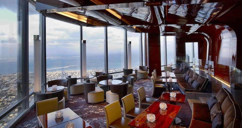 The 15 Highest Restaurants In The World At Mosphere
