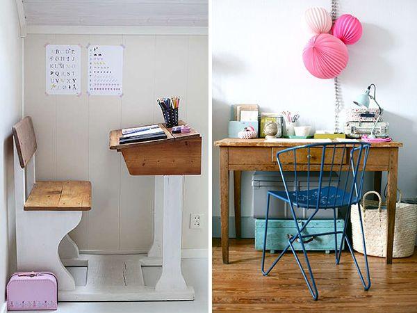 Pupitres vintage para ni os y d nde comprarlos pinterest escritorio infantil escritorios y - Escritorio ninos ...