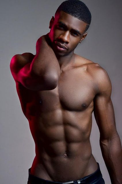 Commit Hot black male models