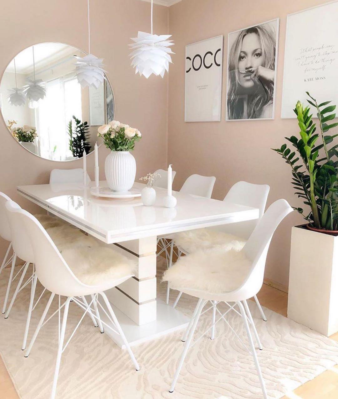 Inspi Deco On Instagram Scandinave Home Inspi Nihals Sweet Home Picoftheday Instalike Liv Murs De Salle A Manger Idees De Decor Rideaux A Nouettes