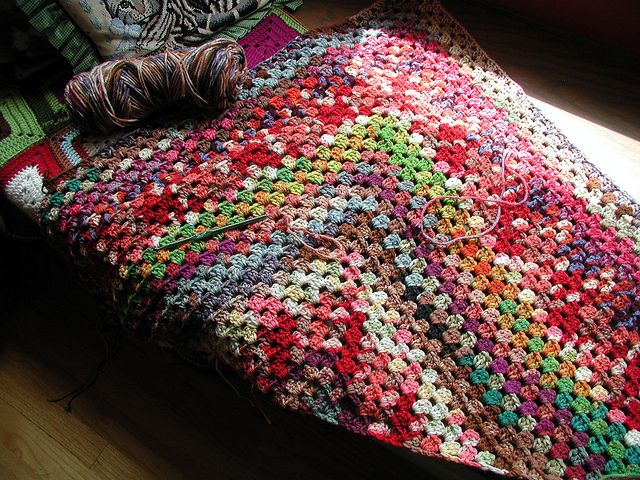 Baby Blanket With Tags All Around It