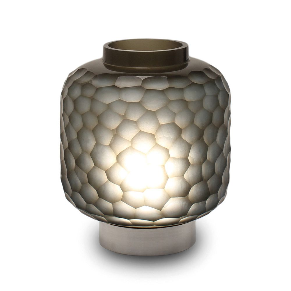 Discover The Guaxs Yong Table Lamp Indigo Smoke Grey At