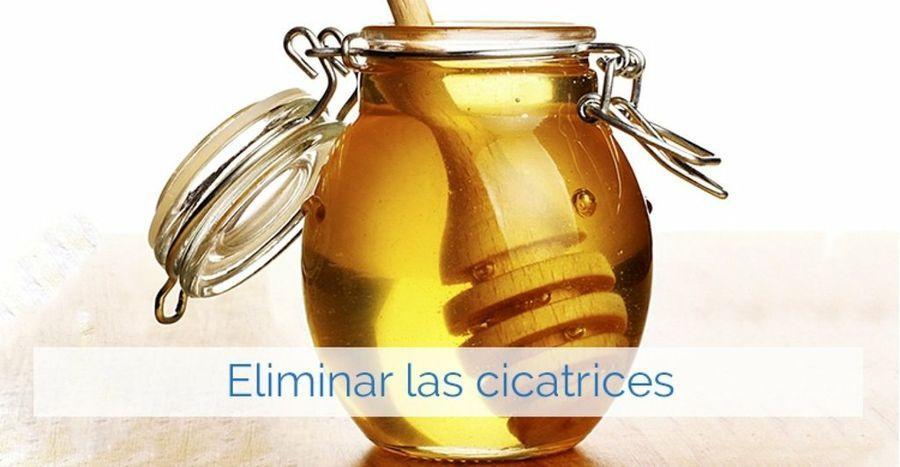 Remedios con miel y manzanilla para las cicatrices