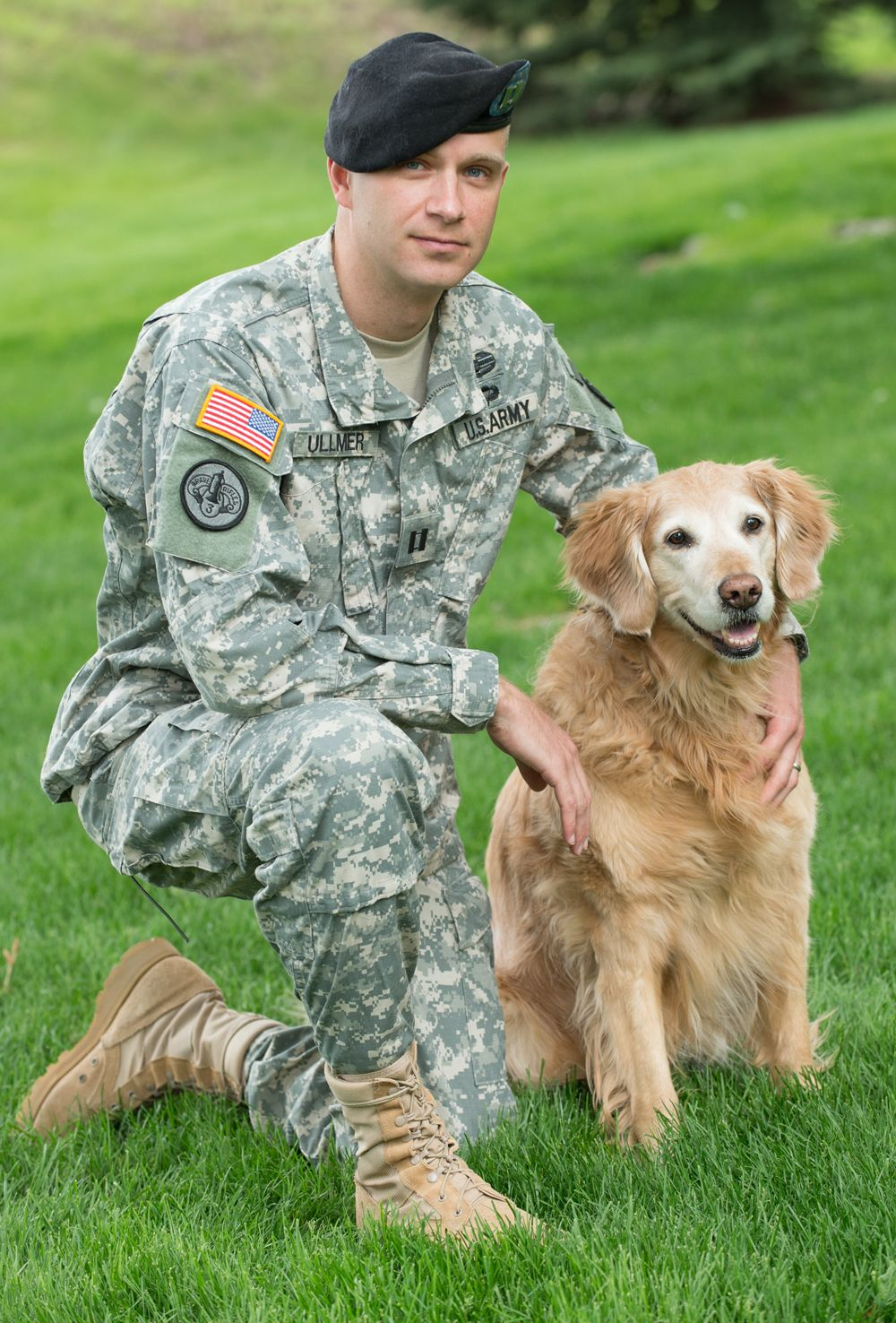 Remember military veterinarians like Dr. Jeff Ullmer this