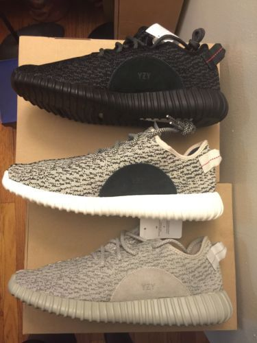 e8de70a5de40d Adidas Yeezy Boost 350 Turtle Dove Pirate Moon Rock AQ2660 AQ2659 AQ4832  Size 11