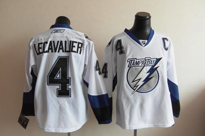 8f1d16ba6 ... NHL Jersey Tampa Bay Lightning 4 Vincent LECAVALIER Road Jersey ...