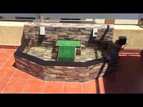 Estanque para tortugas - YouTube