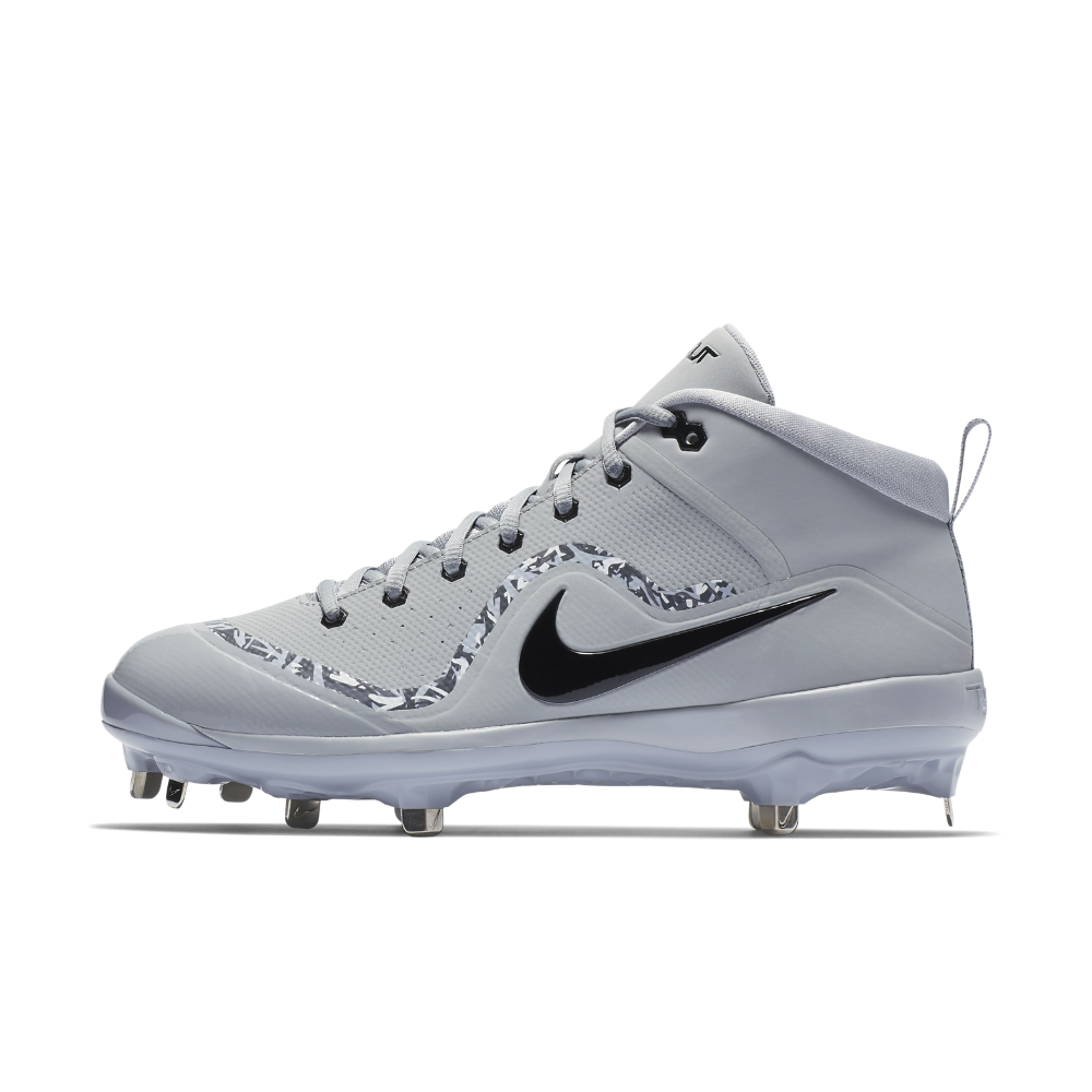 65239a2da5d2d Nike Force Air Trout 4 Pro Men s Baseball Cleats Size 12.5 (Grey ...