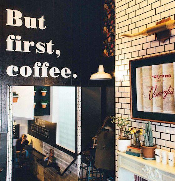 Indie Coffee Shops To Perch Work La Goop