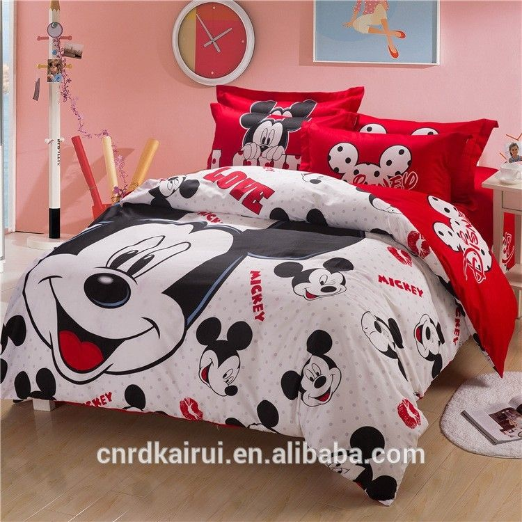 Top Queen Size Mickey Mouse Bedding Minnie Mouse Bedding Sets