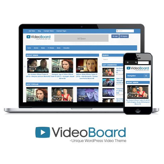VideoBoard WordPress Theme - Review & 25% Discount Coupon