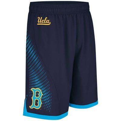 166e15286b adidas UCLA Bruins 2014 March Madness Basketball Shorts - Navy Blue/True  Blue