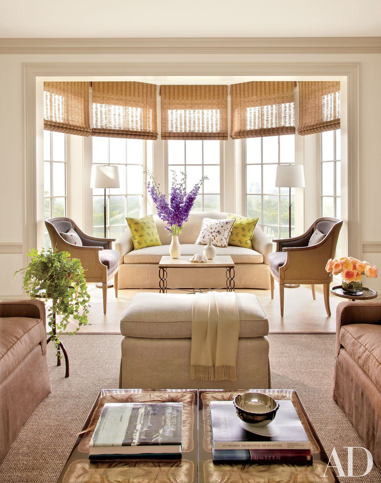 Bay window decor  interior designers on great design for every style  architectural