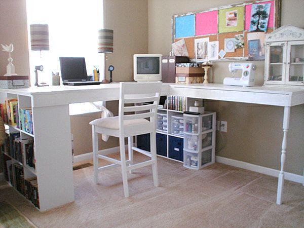 18 diy schreibtische zur verbesserung ihres arbeitsplatzes zu hause work place pinterest. Black Bedroom Furniture Sets. Home Design Ideas