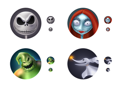 Super Punch Nightmare Before Christmas Icons And Desktop Wallpaper Nightmare Before Christmas Christmas Freebie Christmas Desktop