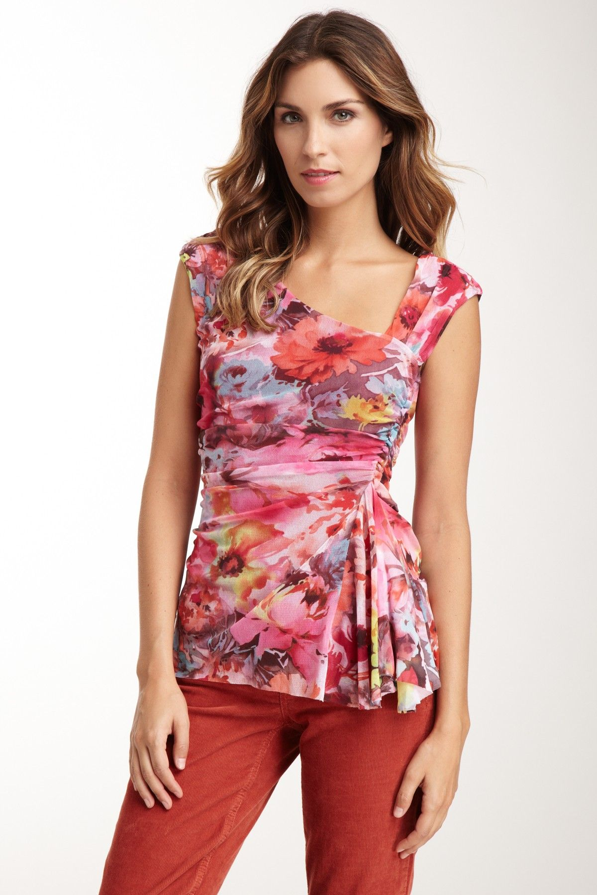 Weston Wear  Side Mattie Ruched Top