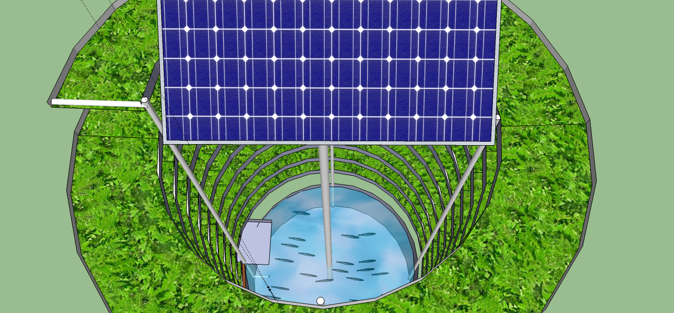 Solar Powered Vertical Aquaponics System Off Grid World Aquaponics System Solar Solar Panels