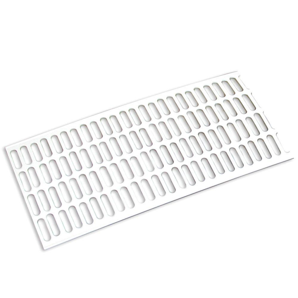Amerimax Home Products 5 Ft White Vinyl Leaf Guard Contemporary T0402 Leaf Guard White Vinyl Gutter Protection