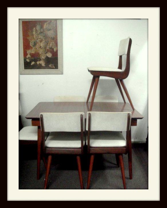 This Cute Dining Suite Was Sold In The 1950s From A Furniture
