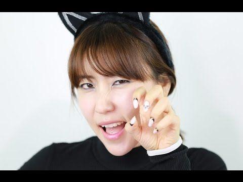 [미대의 네일컬렉션]58화_ AOA고양이 네일아트/Cat Nail art/猫ネイルアート/猫美甲 - YouTube