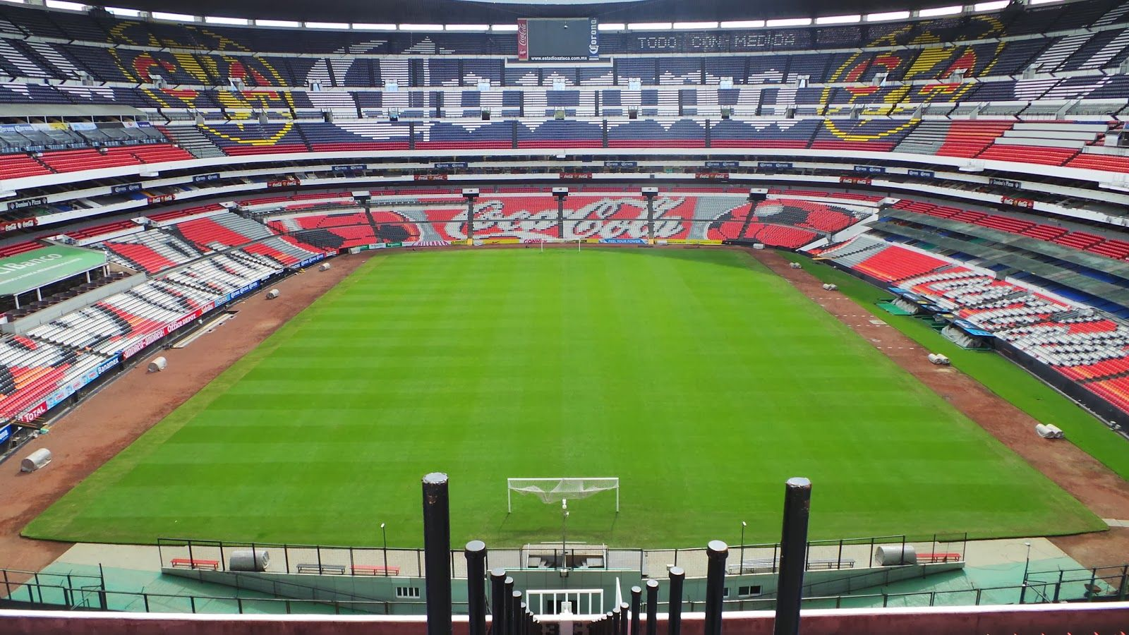 Image result for porterías estadio azteca