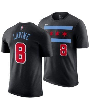 pretty nice af1ac c23f6 Zach LaVine Chicago Bulls City Edition T-Shirt, Big Boys (8 ...