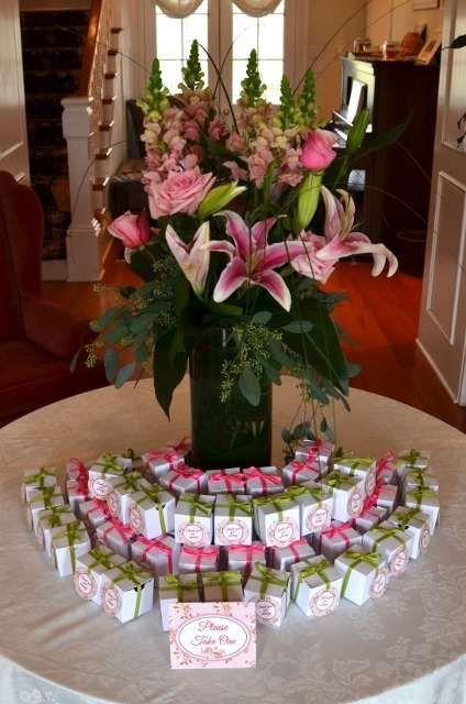 Rock Candy Wedding Favors