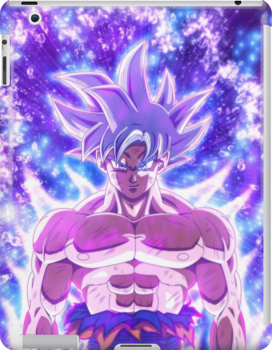 Mui Goku Grin Ipad Snap Case by Travidas