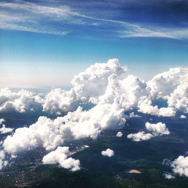 Somewhere over California #travel #HomewardBound #sky #clouds #delta #longweekend