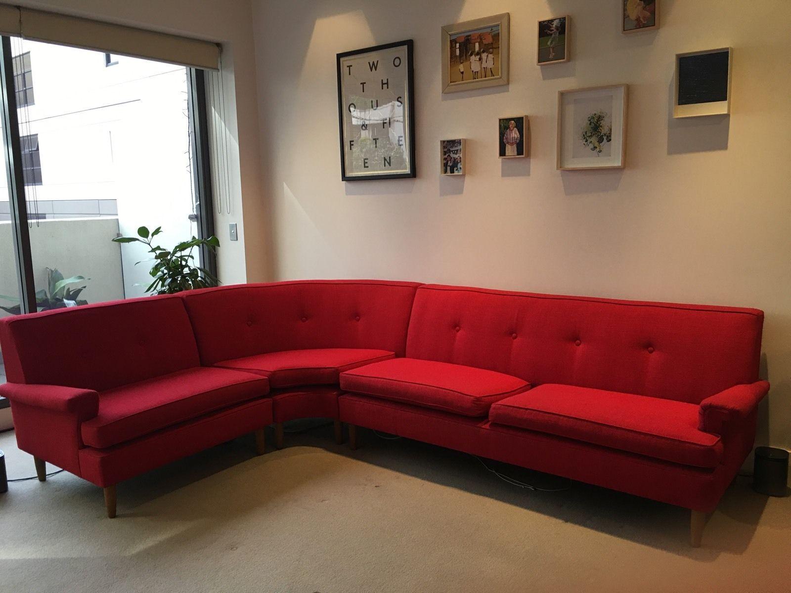 Red Sofas Ebay