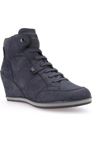 7c34ddb35f Geox 'Illusion 25' High Top Wedge Sneaker (Women) available at #Nordstrom